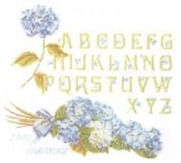 Hortensia Alphabet Sampler