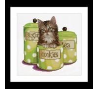 Kitten in a Cookie Jar - 735A