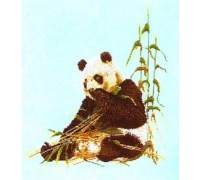 Panda and Bamboo - 937J - 28ct