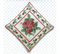 Pink Roses Cushion Front - 2034J - 28ct