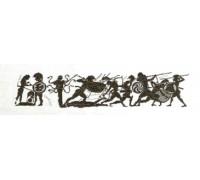 Roman War Scene Frieze