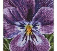 Shades of Lilac Pansy - 456A - 18ct
