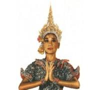 Thai Lady Cross Stitch