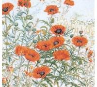 Wild Poppyfield Panel