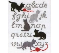 ABC Cats Sampler - 2002\70.015