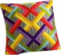 Bold Diagonals Geometric Long Stitch - 1530/2001