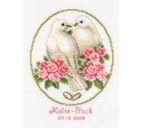 Doves Wedding Day Sampler - 2002\70.089