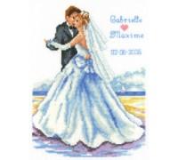 First Dance - 2002\70.493 - 14ct aida