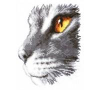 Majestic Cat - 2002\70.166 - 14ct aida