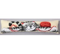 Playful Cat Draft Excluder - 1235/5006