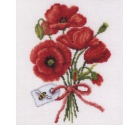 Poppy Bouquet by Vervaco - 2010\70.064