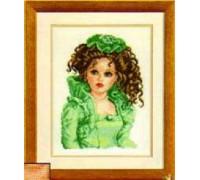 Porcelain Doll in Green - 2002\75.031