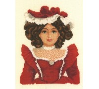 Porcelain Doll in Red - 2002\75.032