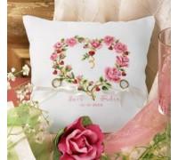 Roses Wedding Ring Cushion - 2310\23.104