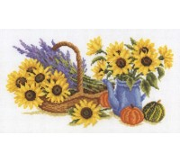 Sunflowers and Lavender - 2002\70.075