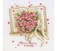 Wedding Bouquet Sampler - 2002\70.049