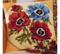 Anemone Trio Chunky Cross Stitch - 1200/676