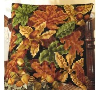 Autumn Leaves and Acorns Chunky Cross Stitch - 1200/727