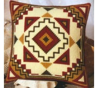 Aztec Geometric Chunky Cross Stitch - 1200/633