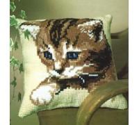 Blue Eyes Kitten Chunky Cross Stitch - 1200/444