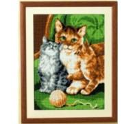 Cat Family Tapestry - 6133