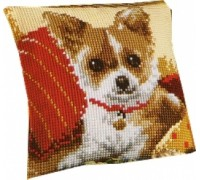 Chihuahua Chunky Cross Stitch - 1200\982
