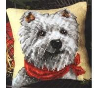Cute Westie Chunky Cross Stitch - 1200/606