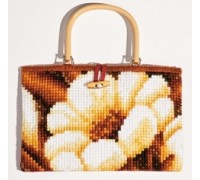 Daisies Chunky Cross Stitch Handbag - 1221/6606