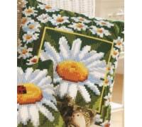Daisy Border Chunky Cross Stitch - 1200/768