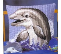 Dolphin Welcome Chunky Cross Stitch - 1200/464