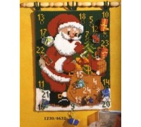 Father Christmas Chunky Advent Calender - 1230/4632