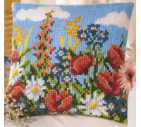 Floral Chunky Cross Stitch - 1200/710