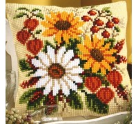Floral Delight Chunky Cross Stitch - 1200/959