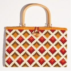 Chunky Cross Stitch Handbags