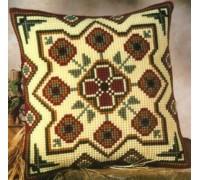 Geometric Flowers Chunky Cross Stitch - 1200/651
