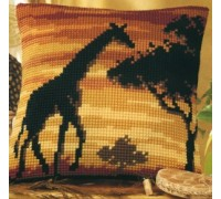 Giraffe Sunset Chunky Cross stitch - 1200/729