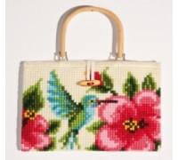 Hummingbird Chunky Cross Stitch Handbag - 1221/6605