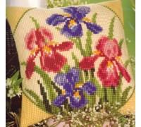 Irises Chunky Cross Stitch - 1200/678