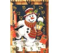 Jolly Snowman Advent Calender - 1230/4633