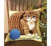 Kitten and Wool Chunky Cross Stitch - 1200/417