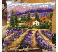 Lavender Field Chunky Cross Stitch - 1200/724