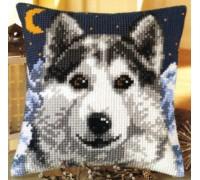 Midnight Wolf Chunky Cross Stitch - 1200/775