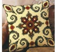 Ornate Geometric Chunky Cross Stitch - 1200/652