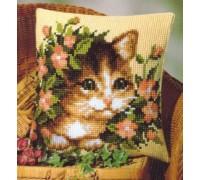 Peeping Cat Chunky Cross Stitch - 1200/238