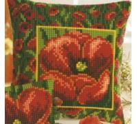 Poppy Border Chunky Cross Stitch - 1200/770