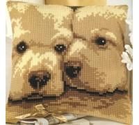 Puppies Chunky Cross Stitch - 1200/732