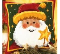 Santa Star Chunky Cross Stitch - 1200/772