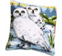 Snowy Owl Chunky Cross Stitch - 1200/944