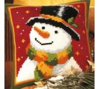Starry Snowman Chunky Cross Stitch - 1200/773