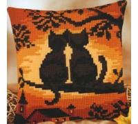 Sunset Cats Chunky Cross stitch - 1200/752